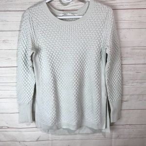 Athleta | honeycomb tunic sweater Sz Small